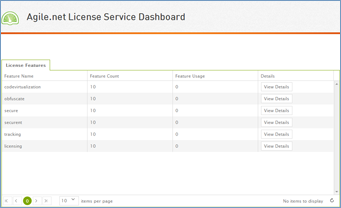 license management dashboard